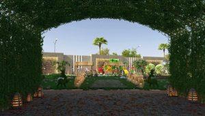 المخطط الرئيسي لكمبوند كابيتال هايتس