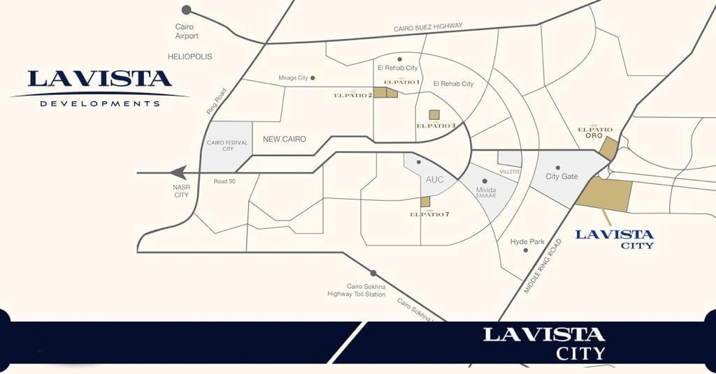 لافيستا سيتي العاصمة الادارية الجديدة