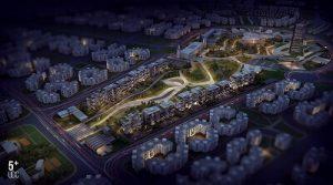 موقع مشروع ميدتاون سكاى العاصمة الادارية الجديدة
